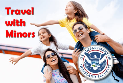 Traveling with minors authorization